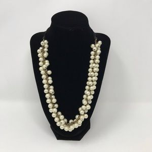 J. Crew Beaded Pearl Necklace